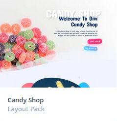 Κατασκευή Eshop - Candy Themes