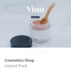 Κατασκευή Eshop - Cosmetics Themes
