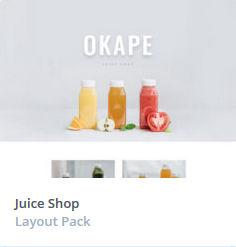 Κατασκευή Eshop -  Juice Themes