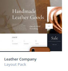 Κατασκευή Eshop - Leather Themes