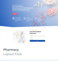 Κατασκευή Eshop - Pharmacy Themes