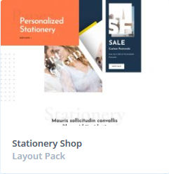 Κατασκευή Eshop - Stationery Themes