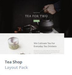 Κατασκευή Eshop - Tea Themes